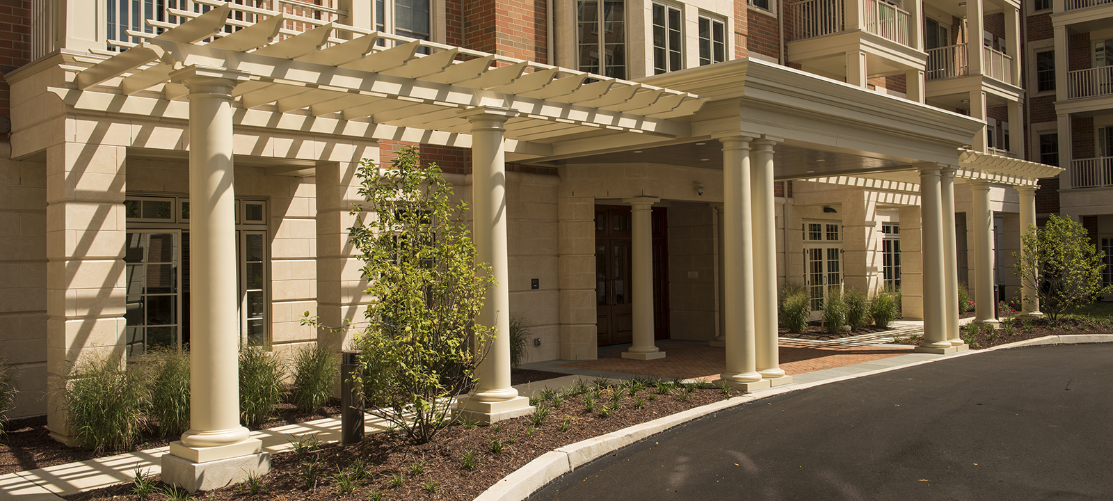 columns at Meridian at Eagleview apartments in Exton PA