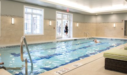 pool at Meridian at Eagleview apartments in Exton PA