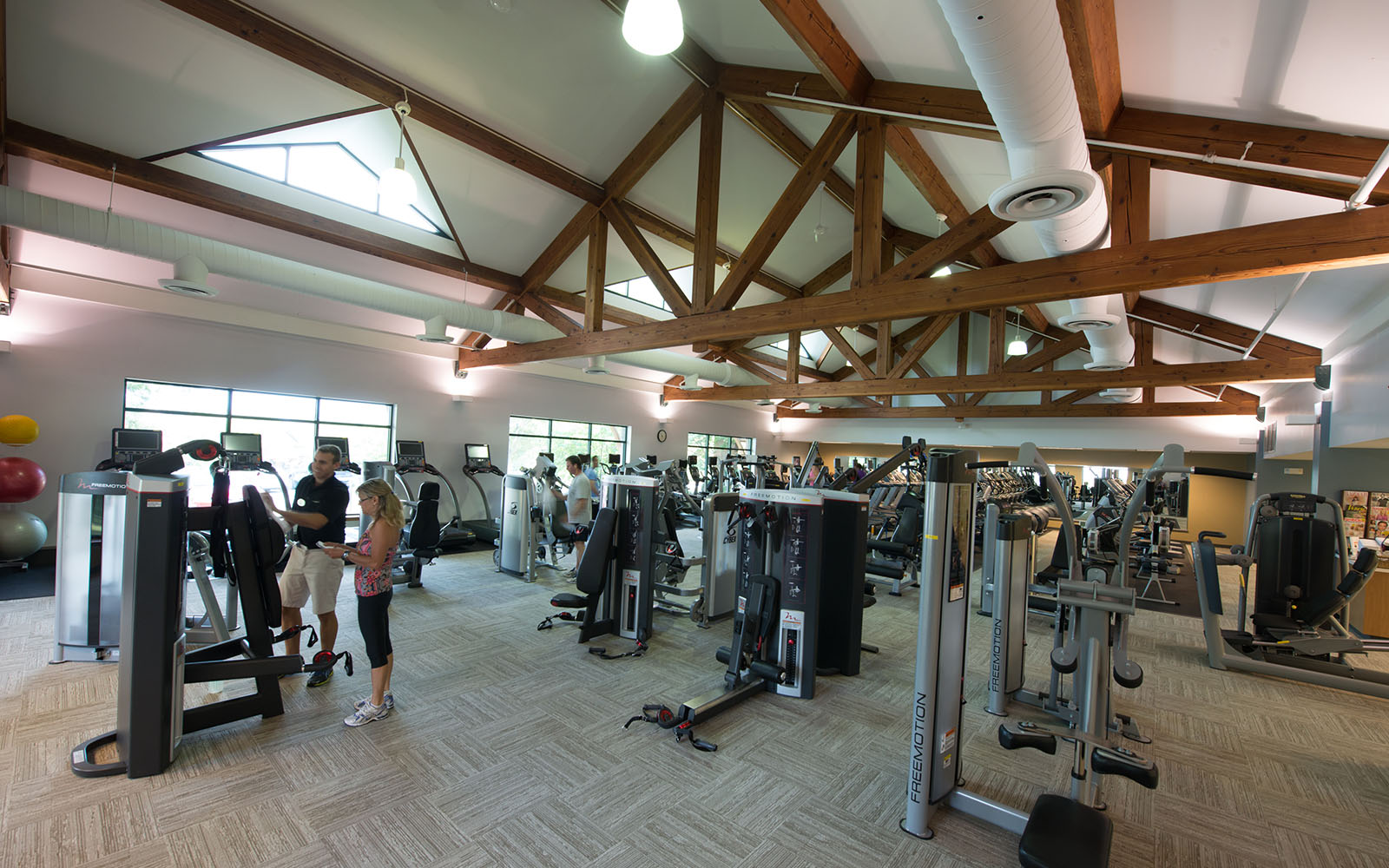 Fitness equipment at meridian at eagleview apartments in exton, pa
