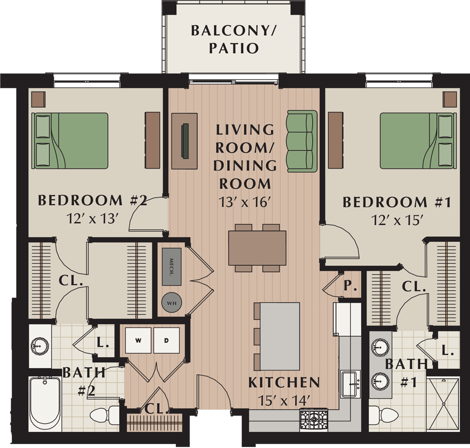 Eagleview Apartments: Meridian At Eagleview