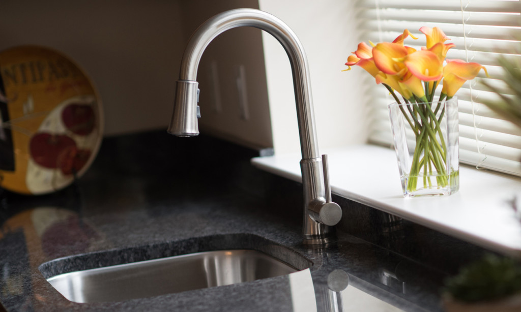 faucet at Meridian at Eagleview apartments in Exton PA