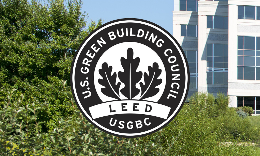 LEED certified symbol from the US Green Building Council
